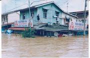 banjir di kota tinggi