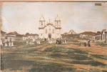 Velha Matriz , por 1900 , de Campo Belo