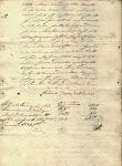 Assinatura do Cap. Antonio Gomes de Oliveira aos 23 de Janeiro de 1821