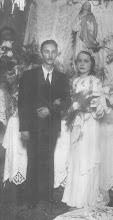 Francisco Porto Sandoval e sua esposa Elvira Romana Salvadeo