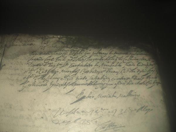 Reg. de casamento de Domingos Martins com Maria Dantas - 1685