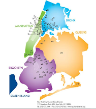 Charter school map