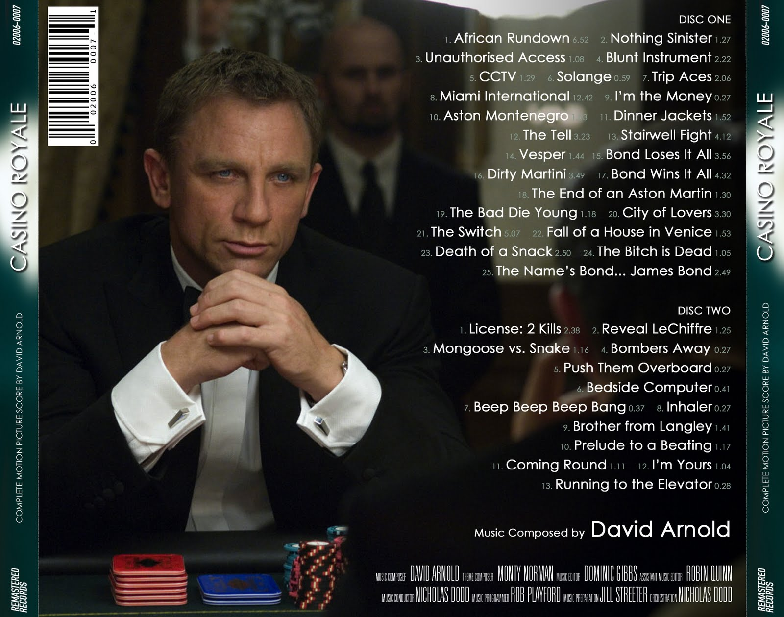 David arnold casino royale ost 2006 is playing the lottery considered gambling