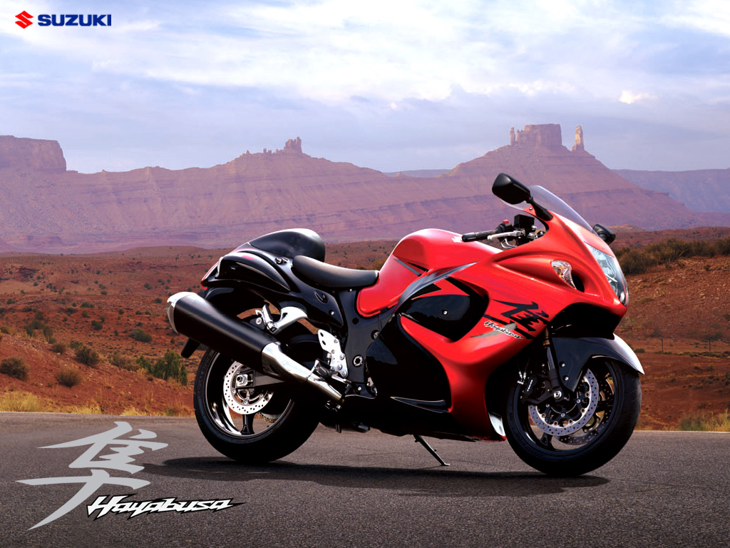 Suzuki Hayabusa Sport Bikes New Desktop HD  - suzuki hayabusa orange bike wallpapers