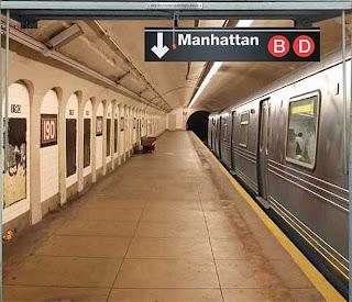 subway illusion