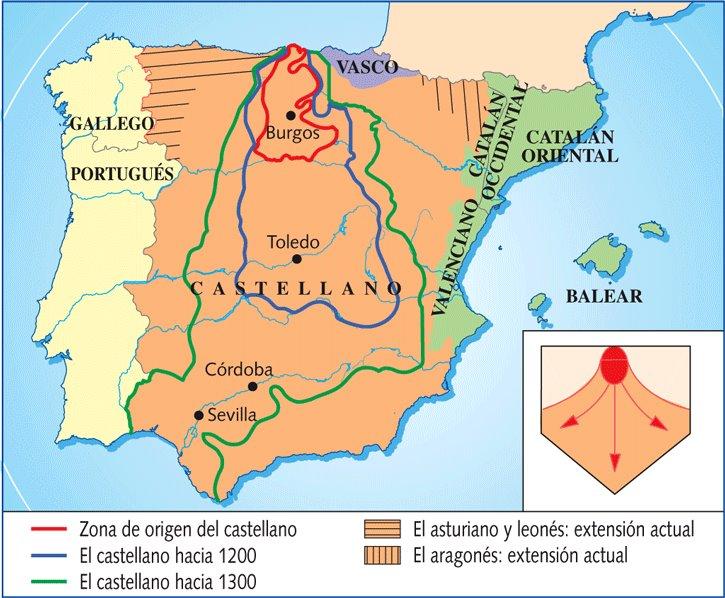 Origen del Castellano