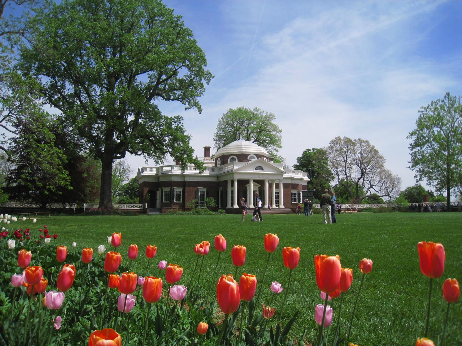 The World 39 S Best Gardens Monticello Gardens Virginia