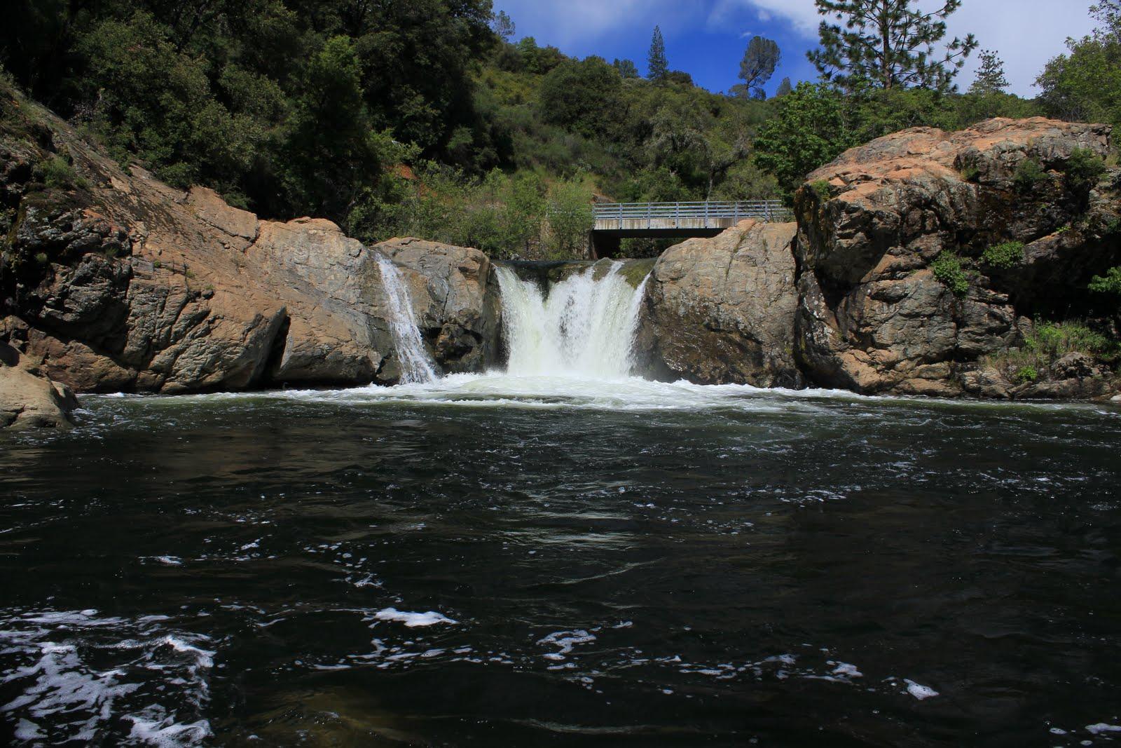 swimming holes of california rainbow falls pools tuolumne classic
