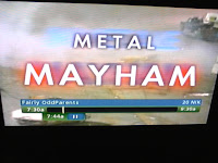 Mispelling.  It says 'MAYHAM' instead of 'MAYHEM'.