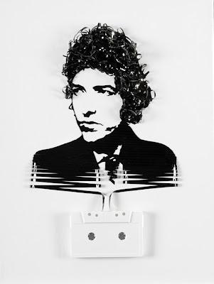 Arte con cassettes de iri5