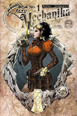 Las ilustraciones de joe benitez Lady Mechanika