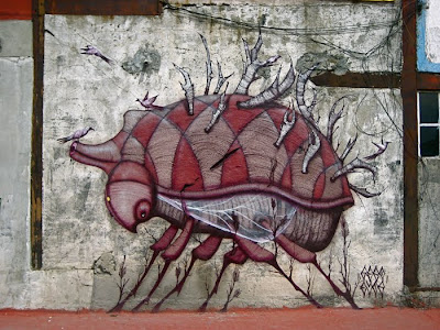 Los graffiti de Sego Ovbal