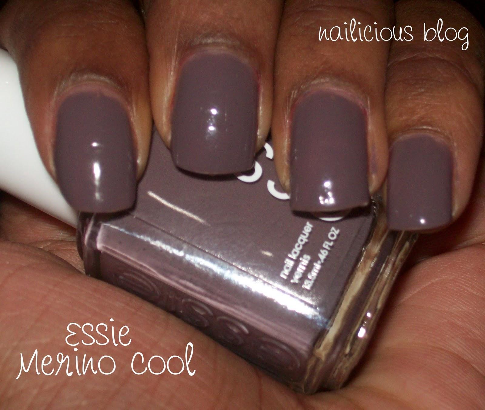 Essie Merino Cool ~ Nailicious