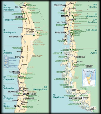 LOS LIMÍTES SE CREAN: Chile y sus Regiones