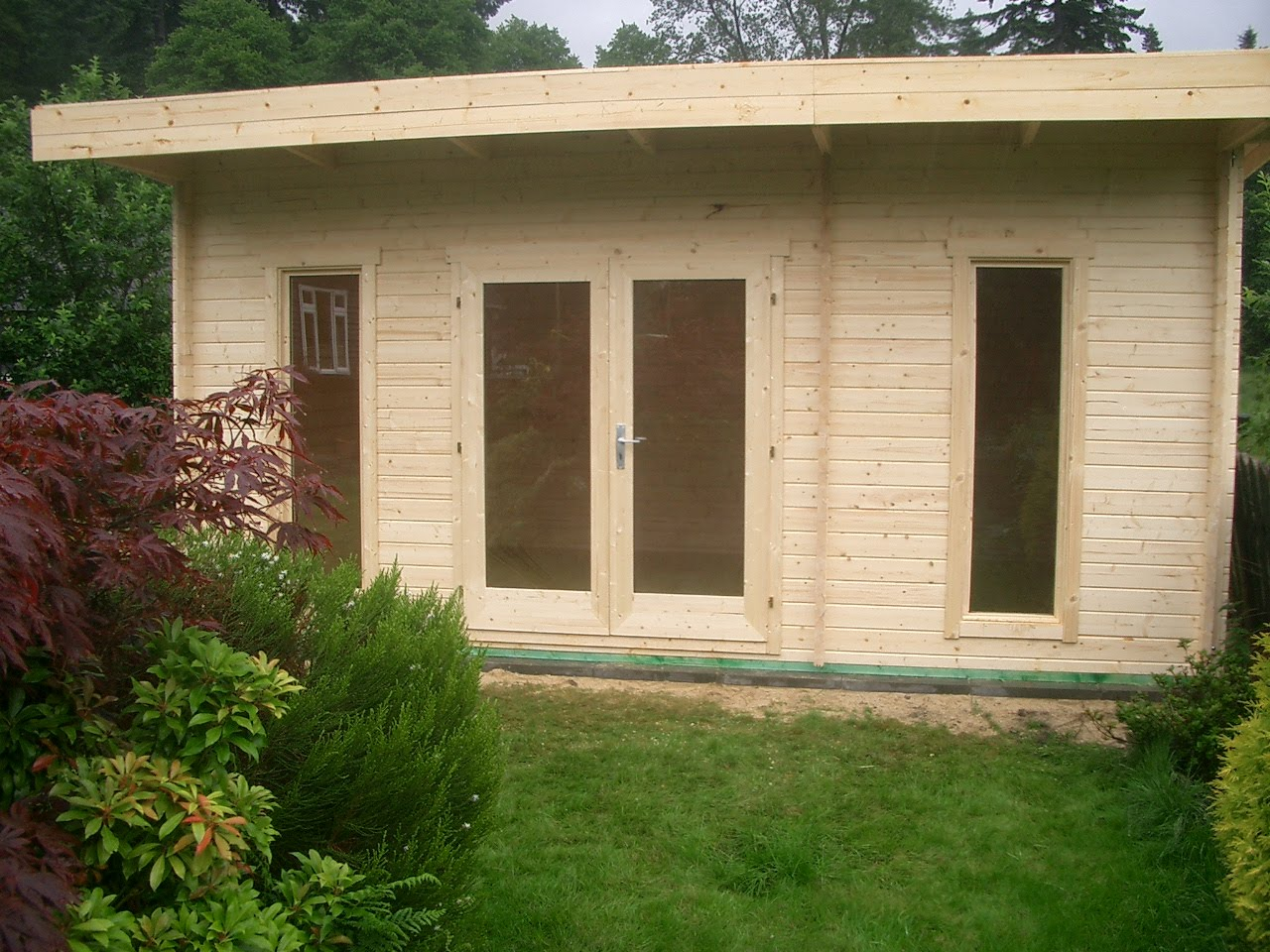 Cabin Living Two Garden Offices For The Price Of One