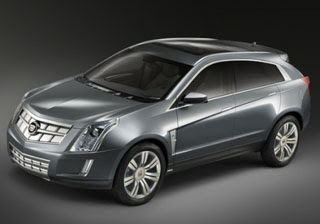 2008 Cadillac Provoq Hydrogen Fuel Cell Concept