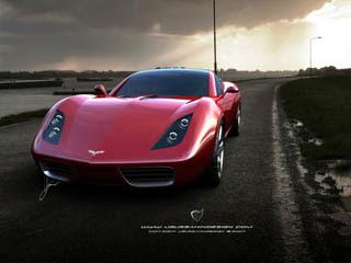 Ugur Sahin Design 2009 Chevrolet Corvette Z03 Concept
