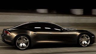 Fisker  hybrid luxury car