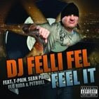 "DJ Felli Fel ""Feel it"" feat. T-Pain, Sean Paul, Pitbull, Flo Rida (click on picture to download)"