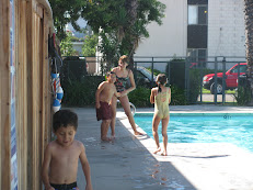 AT TIA DORIS NEW POOL