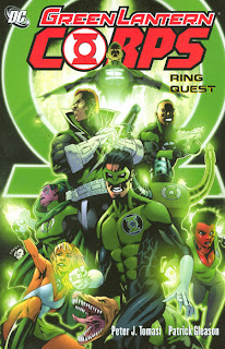 Review Green Lantern Corps Ring Quest Trade Paperback