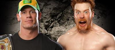 WWE,John Cena,Sheamus