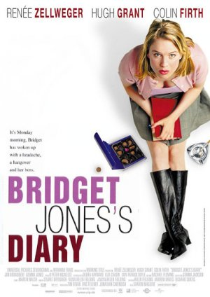 The slightly overweight Bridget Jones (32) meets lawyer Mark on the New ...
