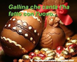 Gallina che canta l'ha fatto con l'uovo...