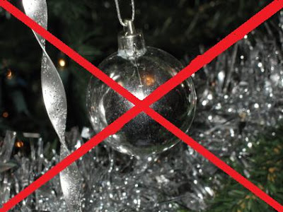 Say No To Christmas decorations Before November 11th