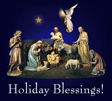 Holiday Blessings! from Ashland College in Ohio. - Click here
