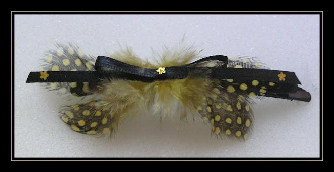 Yellow Hair-clip II