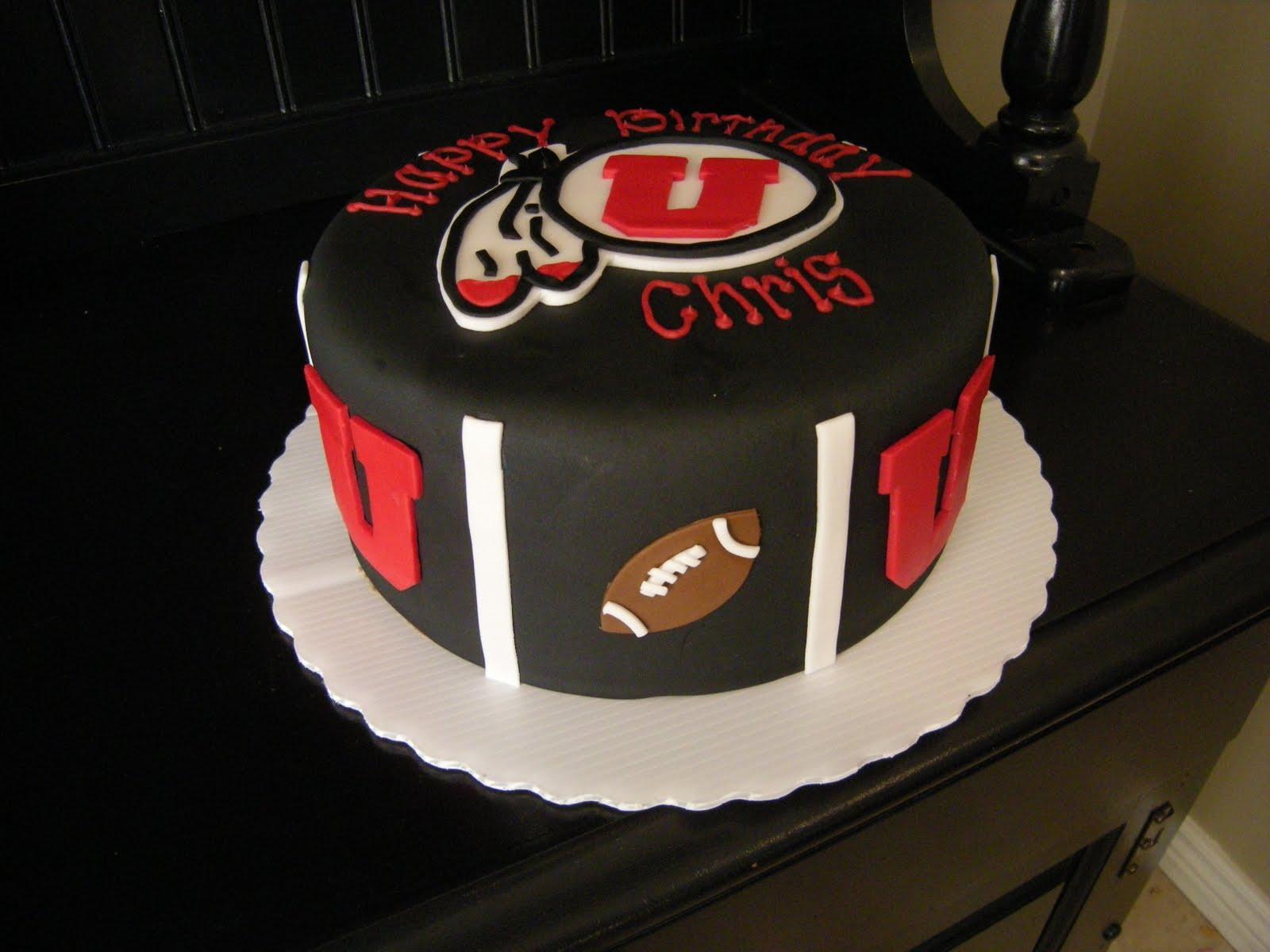 Birthday Cakes Utah ~ Sprinklebelle: university of utah cake