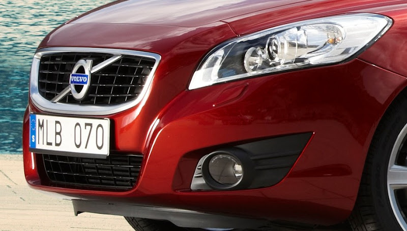 2011 Volvo C70 headlamp