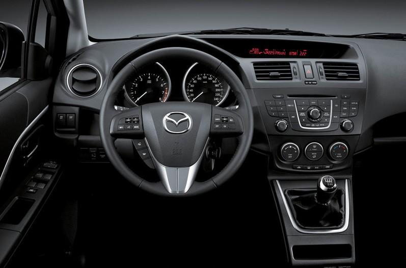 2011 Mazda 5 interior