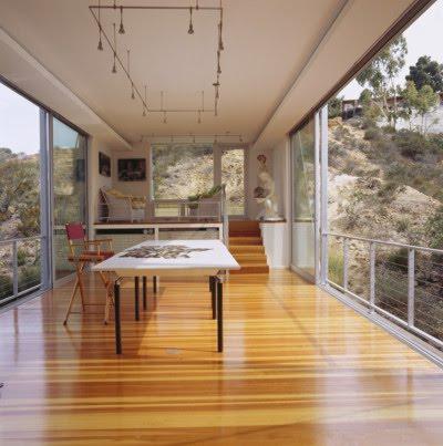 Artist Bridge Studio  by Architects Safdie Rabines