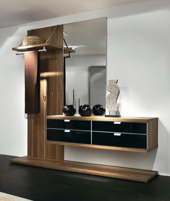 Modern House Hall Way Design furniture  by Hulsta