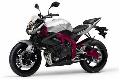 motorcycles new yamaha fz unveiled  new yamaha fz8 2010