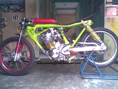 Honda Tiger 2000 Drag Race Modification