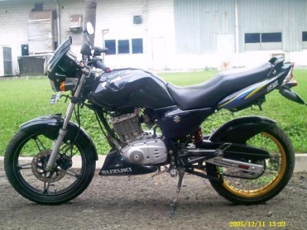 modification Suzuki thunder