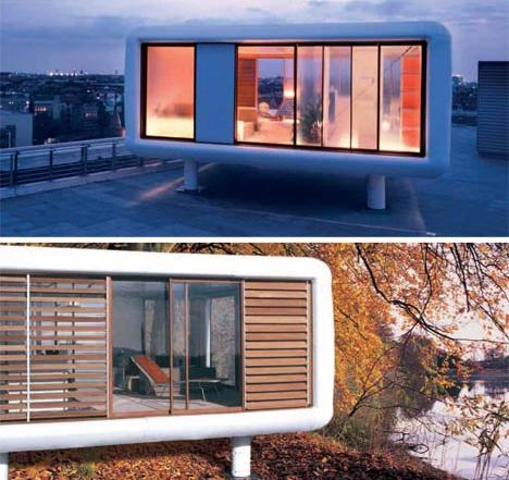 Prefab home architecture LoftCube Four