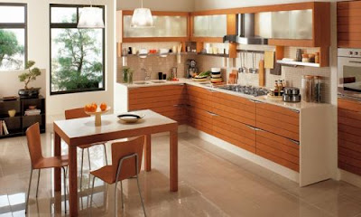 Asian Kitchen Home Interior Design