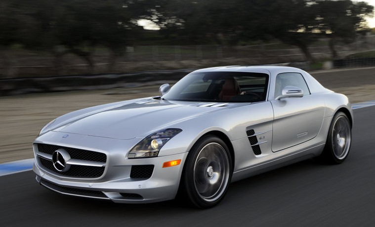 2011 Mercedes-Benz SLS AMG US version
