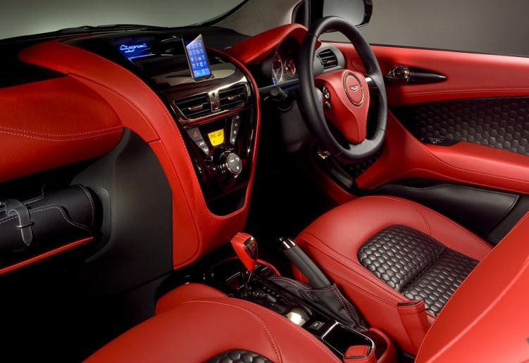 2009 Aston Martin Cygnet Concept