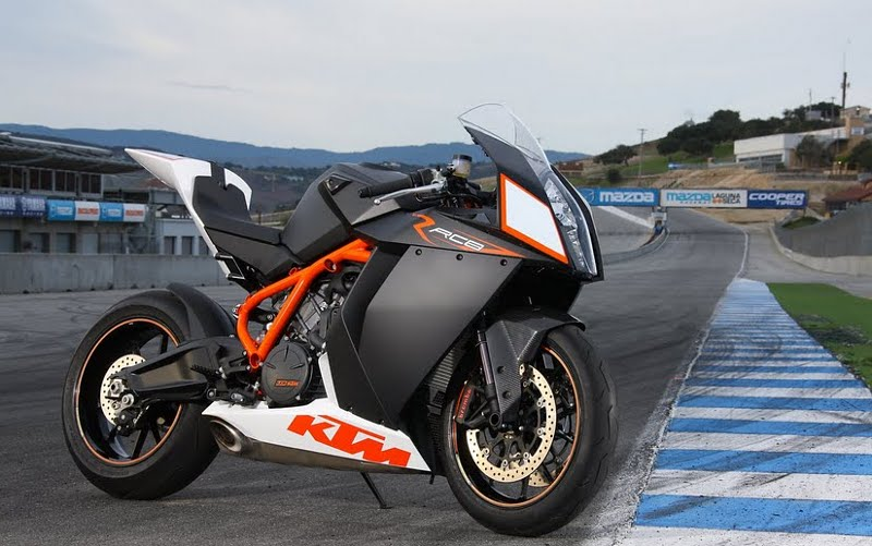 KTM RC8 Modification
