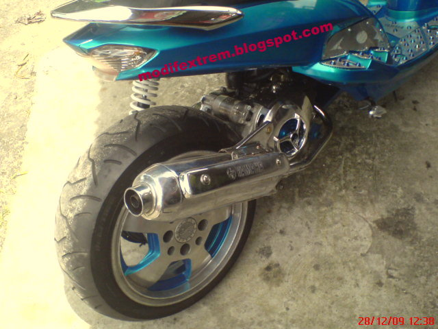 Modification Yamaha Mio Sporty  Low Rider