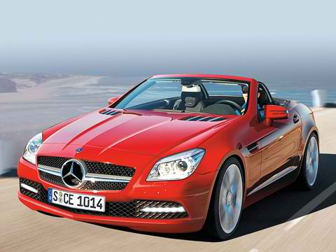 2011 NEW MERCEDES-BENZ SLK