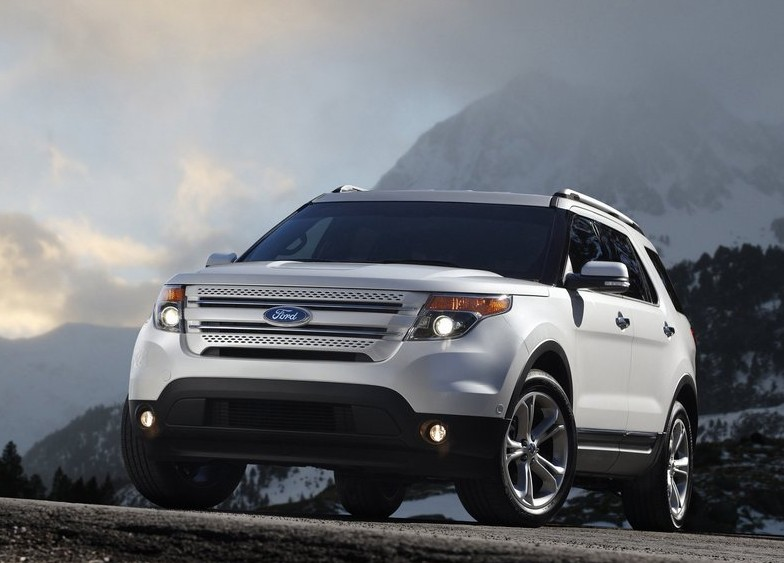 2012 Ford Explorer new