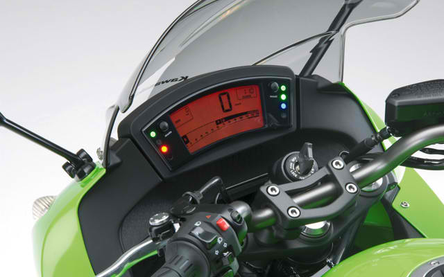 Kawasaki 2011 Ninja 400R speedometer