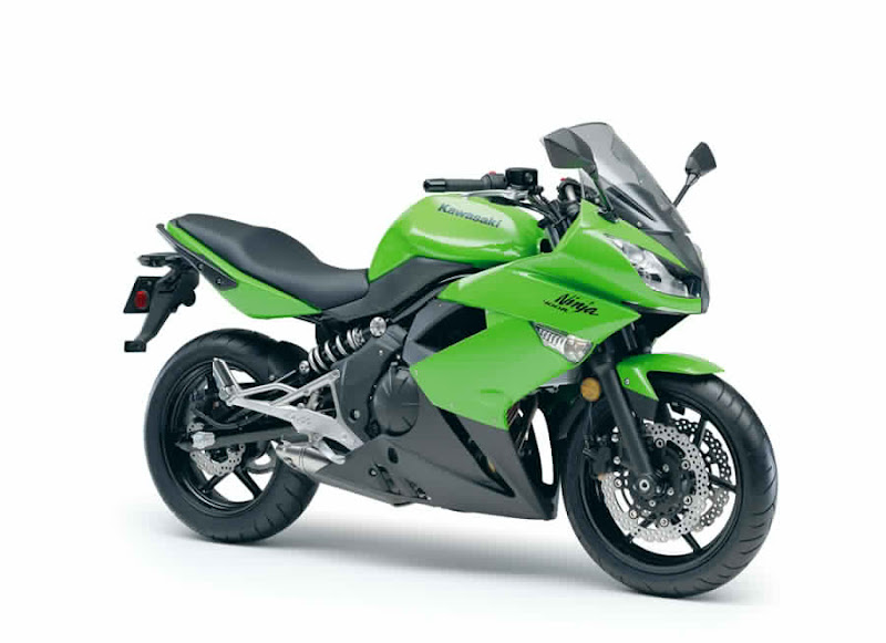 2011 Kawasaki Ninja 400R launch its newest product.