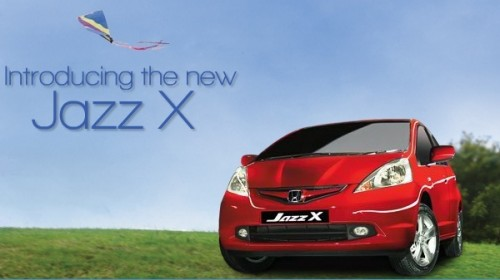 2010 New Honda Jazz X Facelift